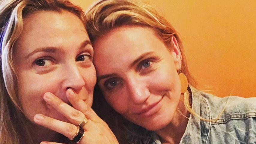 Cameron Diaz & Drew Barrymore: Gemütlicher BFF-Mädelsabend!