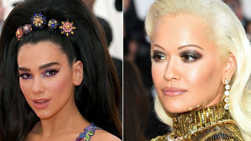 Musik-Beef! Rita Ora und Dua Lipa meiden sich bei Met Gala