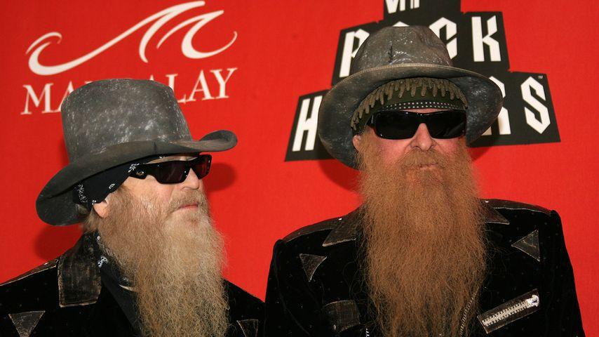 Dusty Hill und Billy Gibbons im Jahr 2007