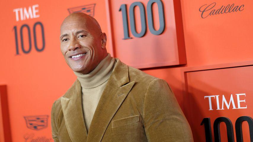 Dwayne Johnson bei der Time 100 Gala