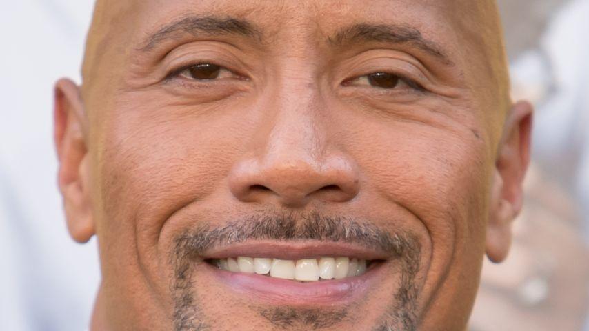 Dwayne Johnson im Juni 2016 bei einer Filmpremiere in Westwood
