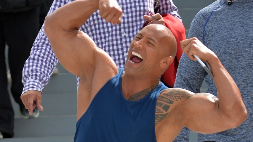 "Dwayne ""The Rock"" Johnson in Miami Beach"