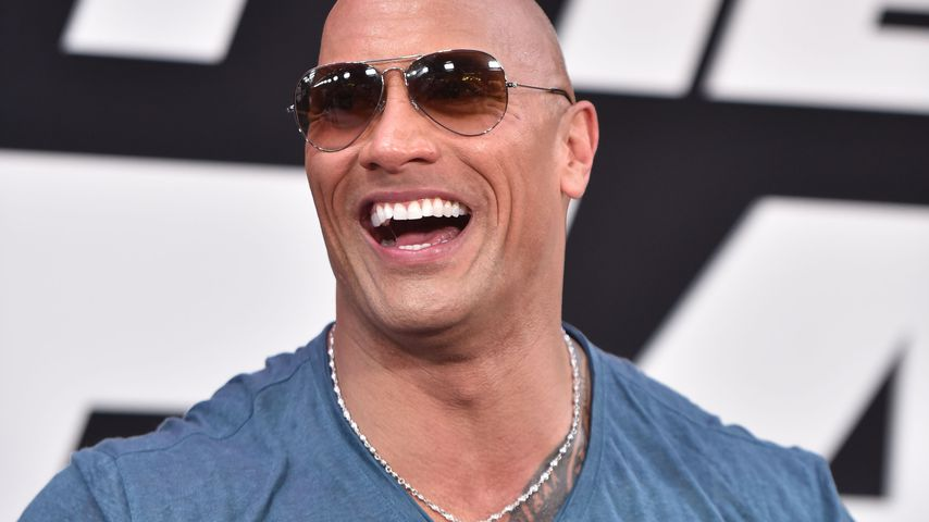 "Dwayne ""The Rock"" Johnson bei der Weltpremiere von ""Fast & Furious 8"""
