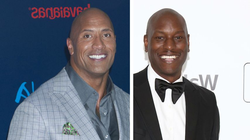 """Dwayne """"The Rock"""" Johnson und Tyrese Gibson legen Streit bei"""