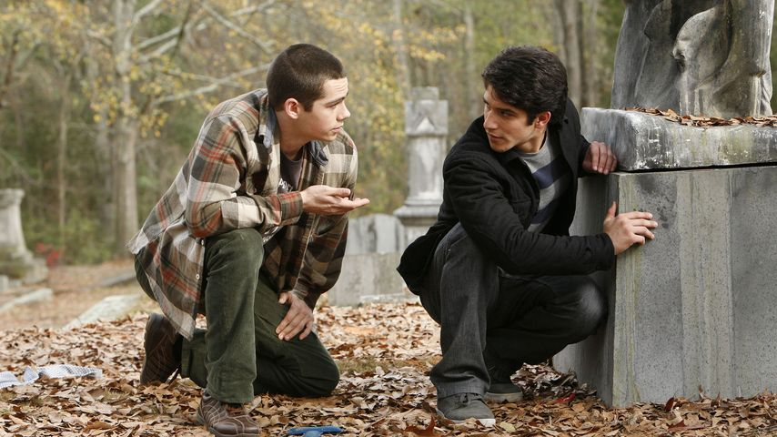 "Dylan O'Brien und Tyler Posey in ""Teen Wolf"""