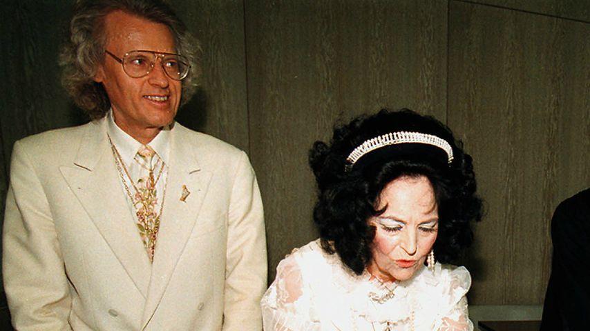 Eberhard Bertschinger-Eicke und seine Ehefrau Erika alias Uriella, 1998