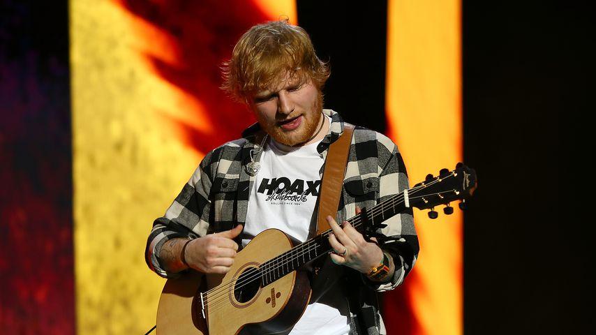 Ed Sheeran bei einem Konzert in Australien