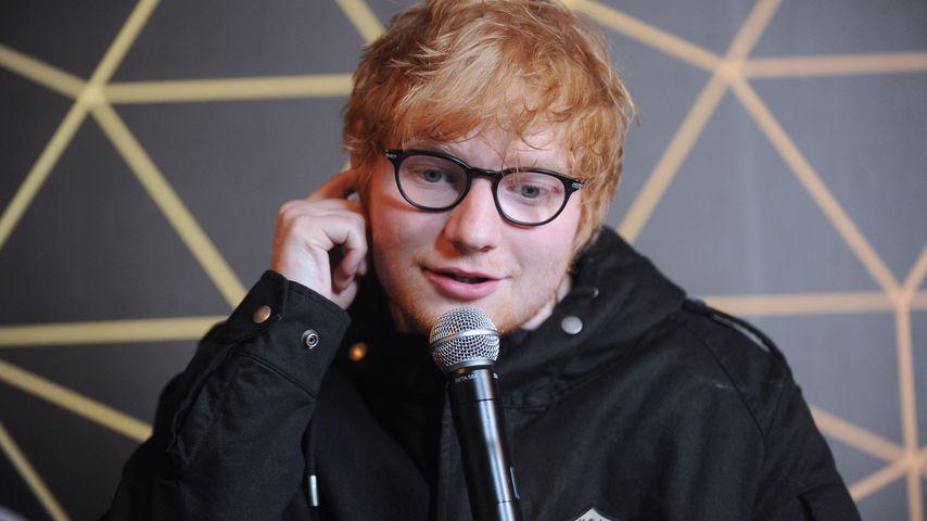 Ketchup-Fanatiker: Ed Sheeran hat immer eine Flasche dabei!