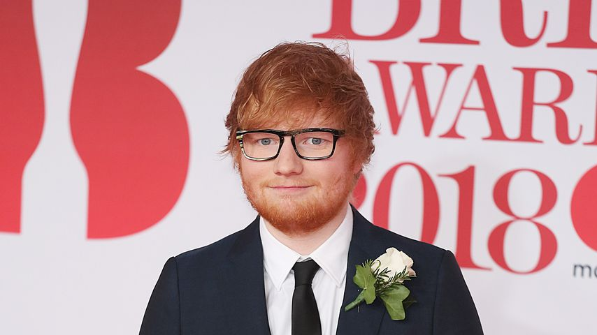 Ed Sheeran bei den Brit Awards 2018