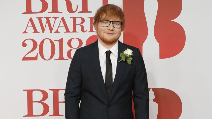 Ed Sheeran bei den BRIT Awards 2018