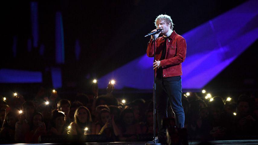 Ed Sheeran bei den BRITs 2018