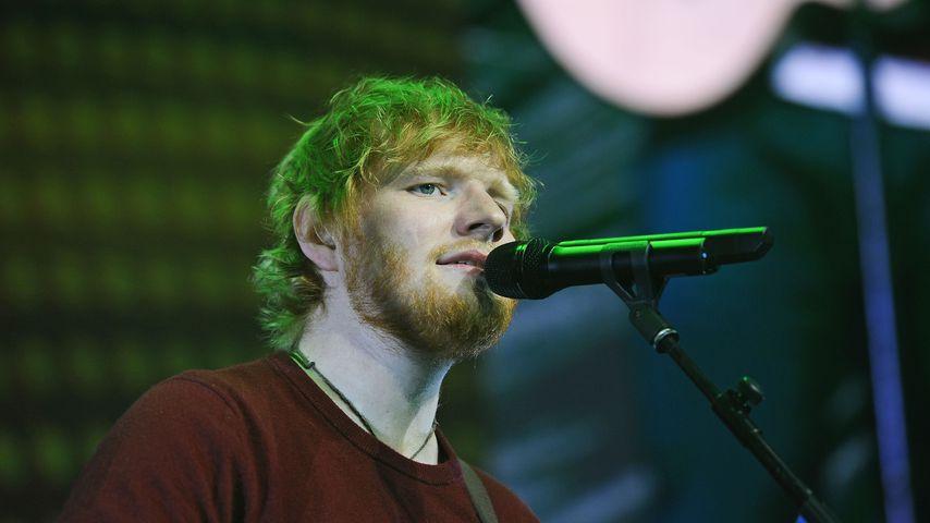 Sänger Ed Sheeran, 2018