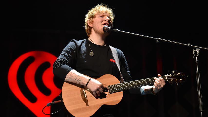 Ed Sheeran bei einem Konzert