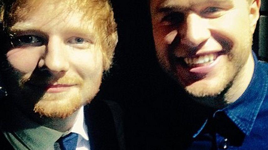 Ed Sheeran und Olly Murs