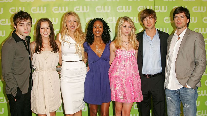 Ed Westwick, Leighton Meester, Blake Lively, Nicole Fiscella, Taylor Momsen, Chace Crawford und Matt
