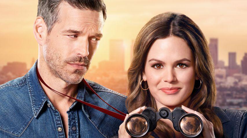 """Eddie Cibrian und Rachel Bilson als Ermittlerduo in der Serie """"Take Two"""""""