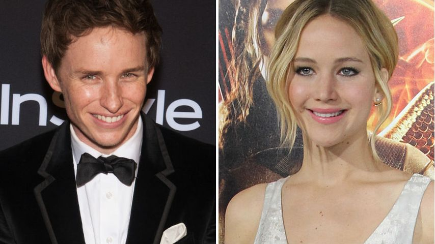 Eddie Redmayne: Von Jennifer Lawrence interviewt