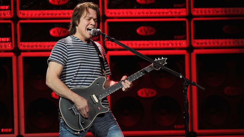 Nach Krebstod: Promis gedenken Rockstar Eddie Van Halen (†)