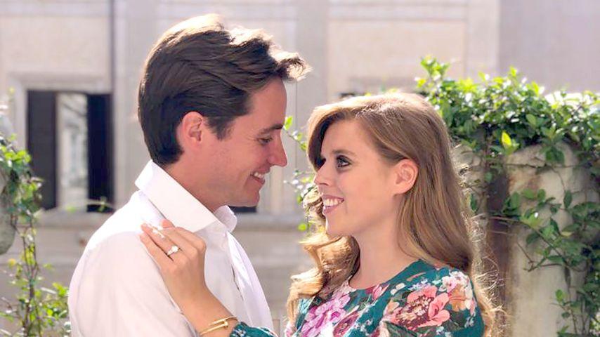 Edoardo und Prinzessin Beatrice schmeißen Verlobungsparty!