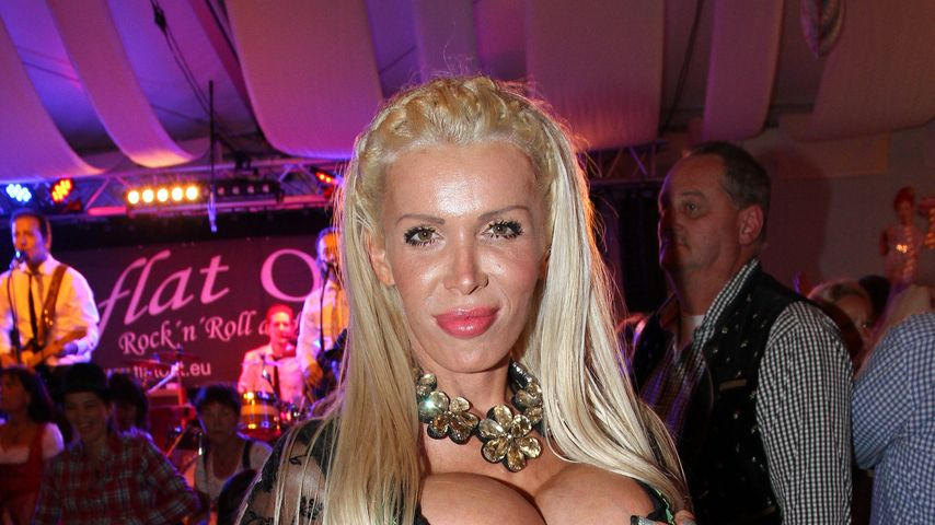 Edona James auf dem Oktoberfest