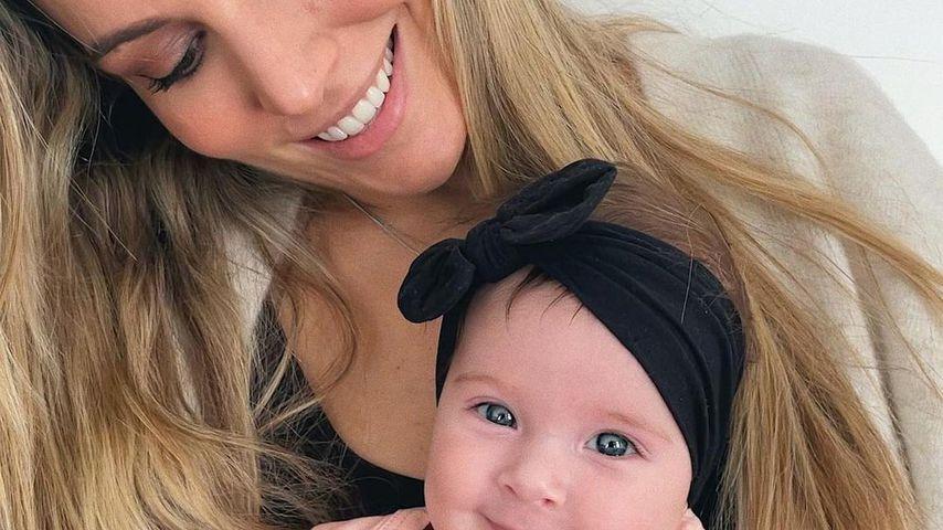 Edurne Garcia und ihre Tochter Yanay im Mai 2021