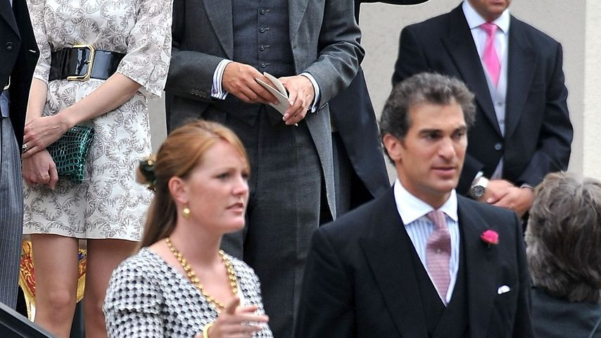 Edward van Cutsem mit seiner Frau Tamara