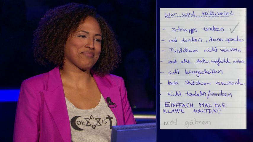 WWM-Zocker-Special: Sie wollte mit Spickzettel an 2 Mio. €