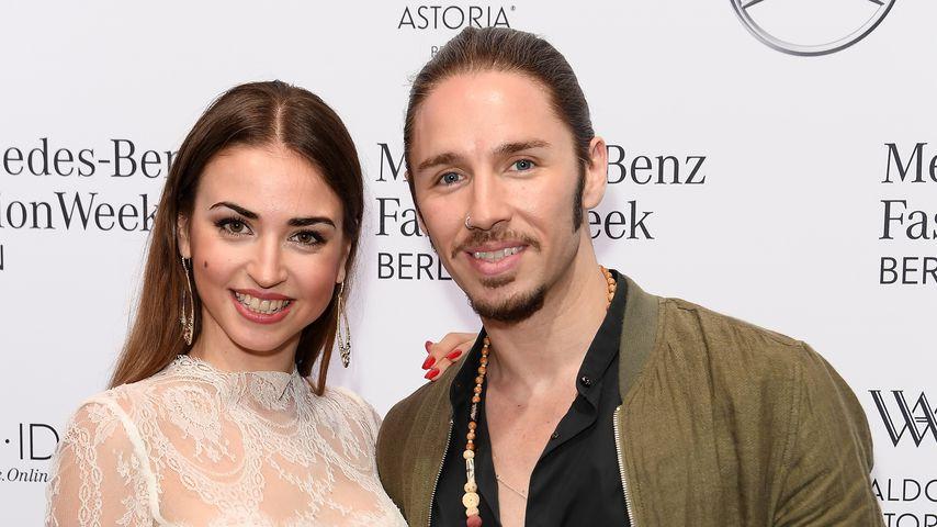 Ekaterina Leonova und Gil Ofarim bei der Berlin Fashion Week