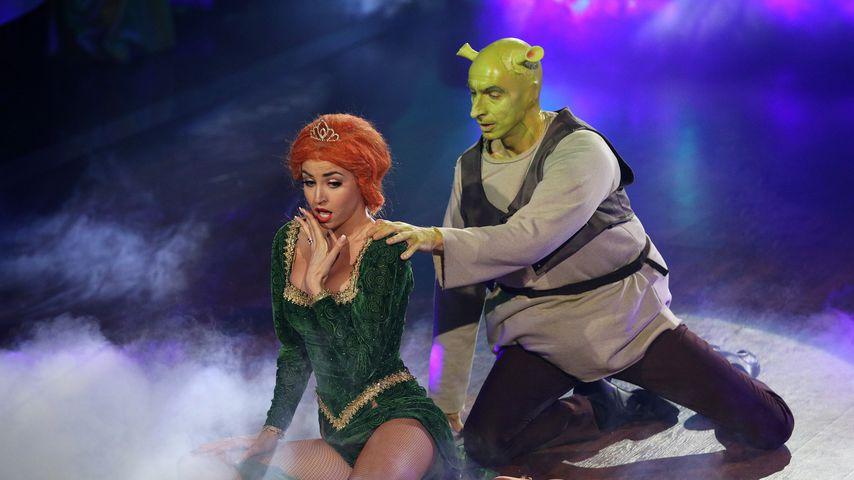 "Ekaterina Leonova und Ingolf Lück im Juni 2018 bei ""Let's Dance"""