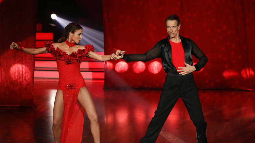 """Let's Dance""-Profi Ekaterina Leonova und Comedian Ingolf Lück"