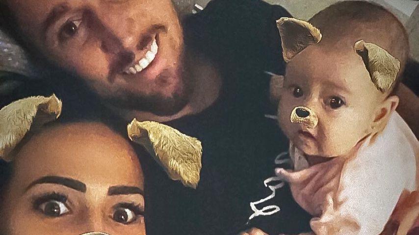 Elena Miras, Mike Heiter und ihr Baby Aylen