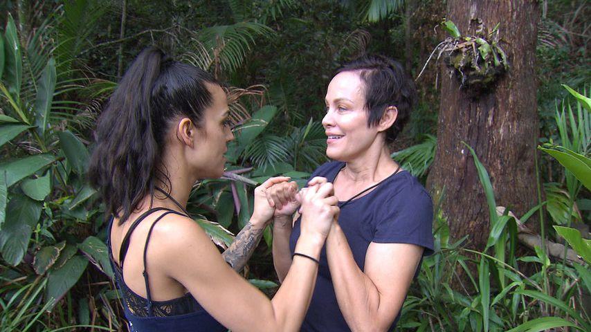 Elena Miras und Sonja Kirchberger an Tag 10 im Dschungelcamp