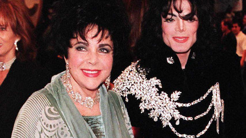 Elizabeth Taylor und Michael Jackson 1997