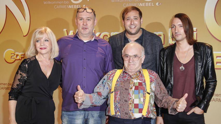 Elke Velten, Walter Lehnertz, Julian Schmitz-Avila, Ludwig Hofmeier und Fabian Kahl