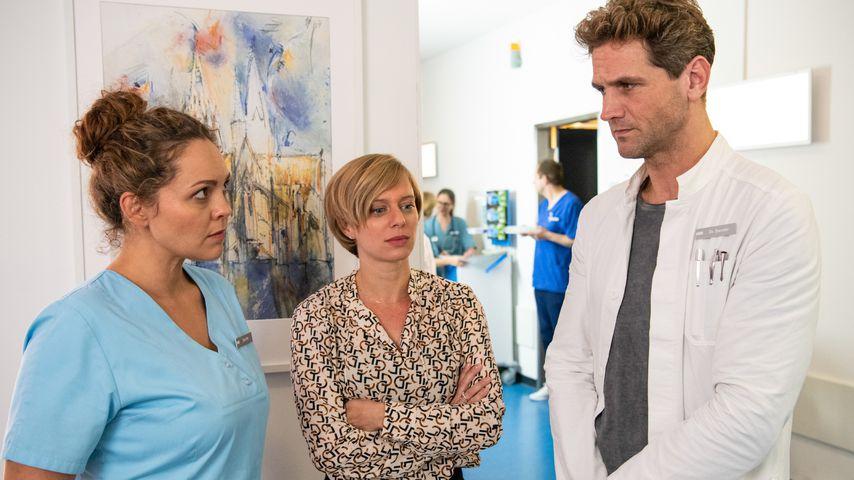 Ella Fink (Ines Quermann), Johanna Heise (Juliette Greco), Dr. Sebastian Sander (Oliver Franck)