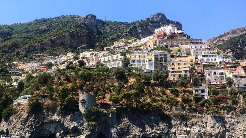 Ellie Goulding macht Urlaub in Italien