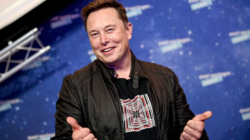 Elon Musk bei den Axel Springer Awards 2020