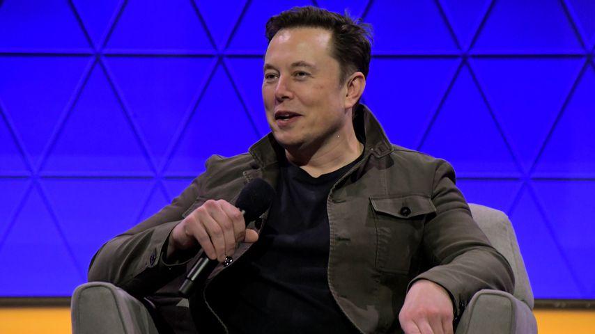 Elon Musk bei einer Pressekonferenz in L.A. im Juni 2019