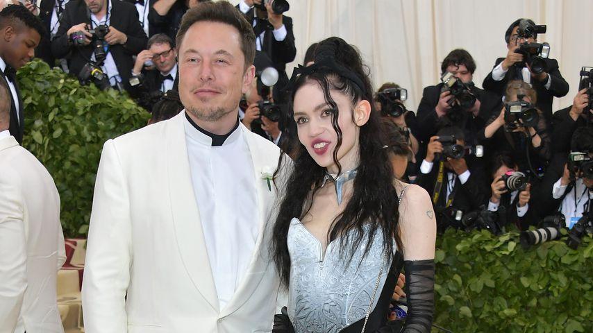 Elon Musk und Sängerin Grimes bei der Met Gala 2018