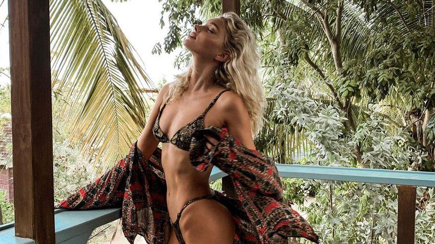 Elsa Hosk auf Jamaika