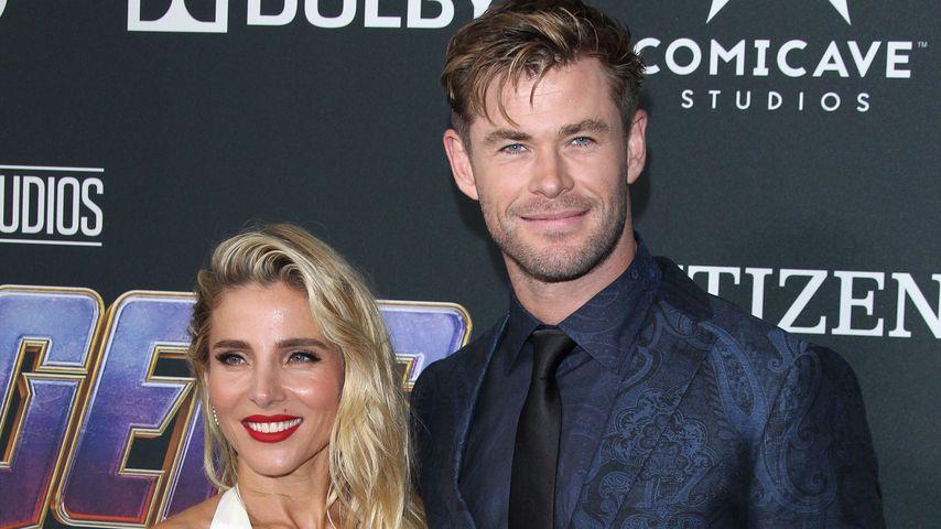 "Elsa Pataky und Chris Hemsworth bei der ""Avengers: Endgame""-Premiere, 2019"