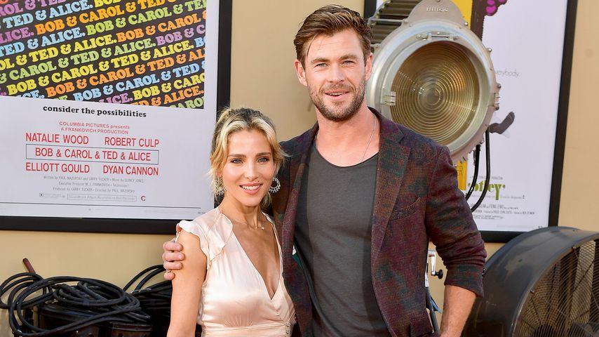 Elsa Pataky und Chris Hemsworth in Los Angeles, 2019