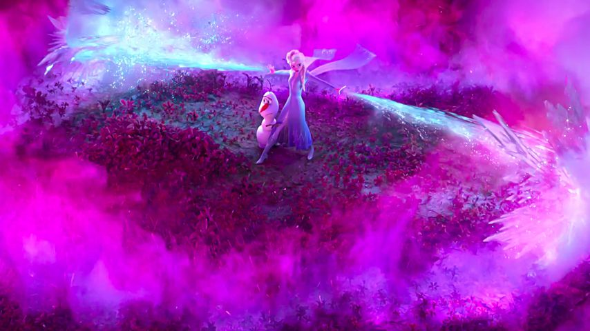 """Elsa und Olaf aus """"Die Eiskönigin 2"""""""