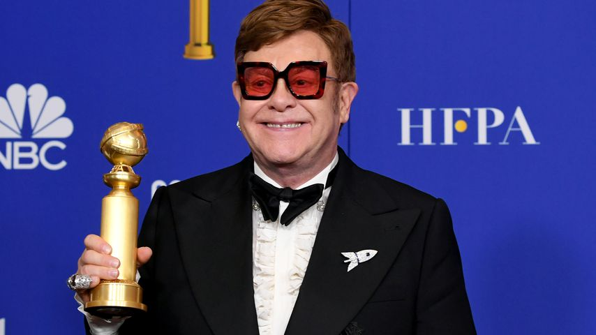 Elton John bei den Golden Globe Awards, 2020