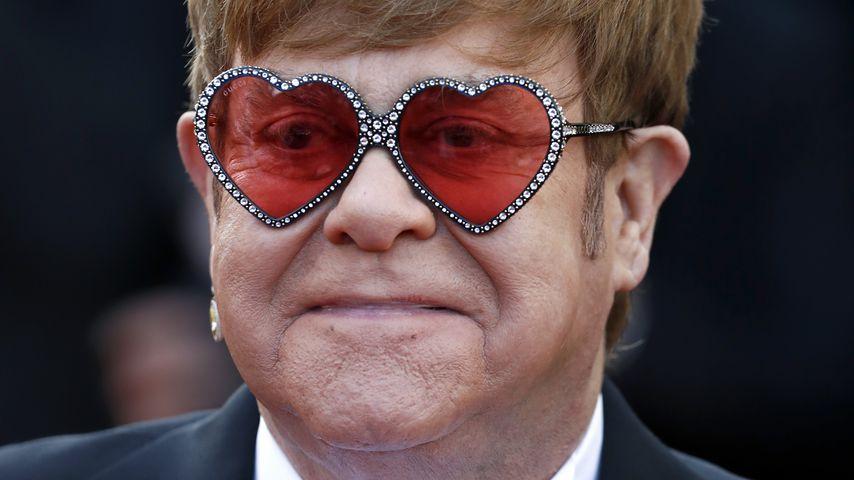 """Elton John bei einer """"Rocketman""""-Filmvorführung am Filmfestival Cannes im Mai 2019"""