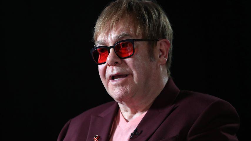 Ohren-Entzündung: Elton John muss Konzerte absagen!