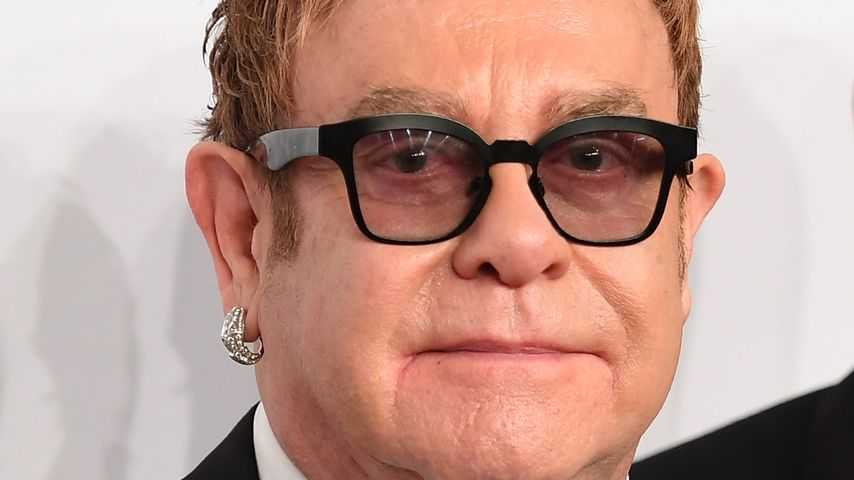 Elton John bei der Elton John Aids Foundation