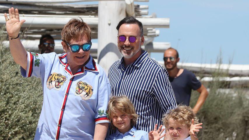Diesen süßen Spitznamen hat Elton John für seine Familie!