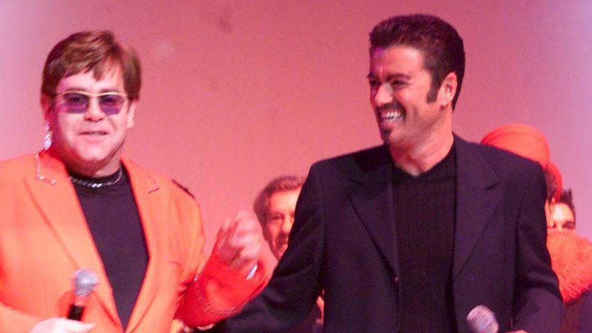 Elton John und George Michael 1999