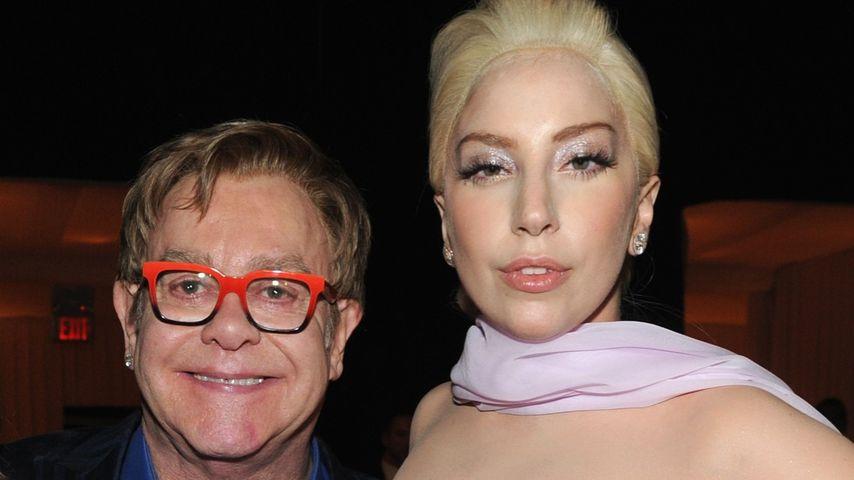 Mega-Duett? Lady GaGa arbeitet mit Elton John am neuen Album
